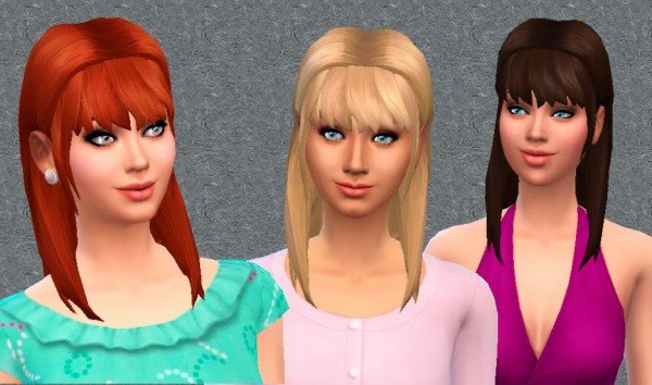 Mystufforigin: Modesty Hairstyle for Sims 4