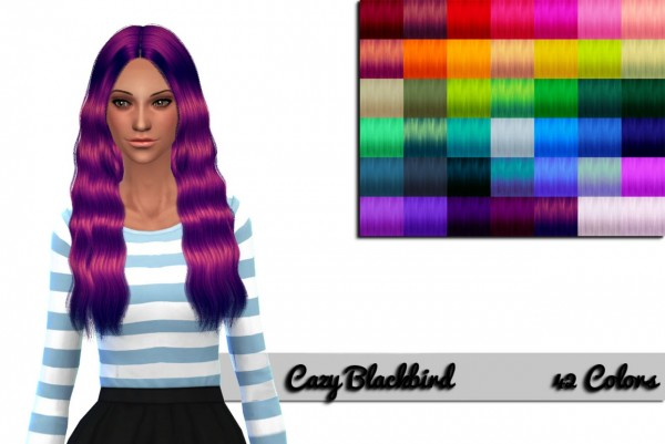 Nessa sims: Cazy`s Blackbird Unnaturals for Sims 4