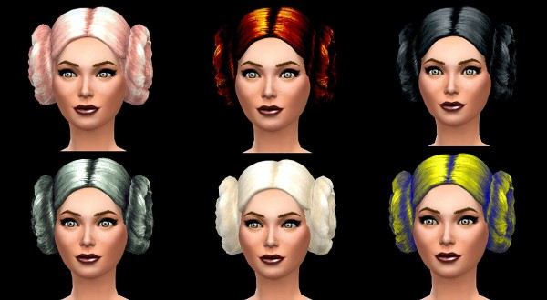 Mod The Sims: Macaroons Hairstyle recolors by Simalicious for Sims 4