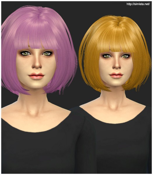 Simista: Newsea`s J070 hairstyle Conversion for Sims 4