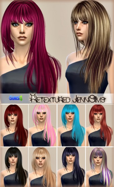 Jenni Sims: Elasims, Peggy, Simista hairstyle converted for Sims 4