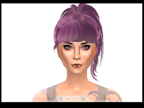 Brownies Wife Sims: Shokoninio's Butternew Ponytail Conversion for Sims 4