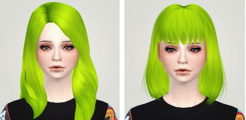 Liahxsimblr: Alesso's Lion hairstyle retextured for Sims 4