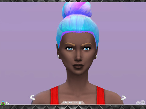 Brownies Wife Sims: Pastel Ombre hairstyles Recolors Set 2 for Sims 4