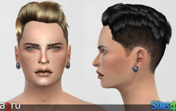 A3RU: Ethan Hairstyle for Sims 4