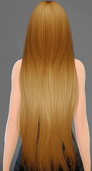 Artemis Sims: Alesso`s Galactic hairstyle retextured for Sims 4