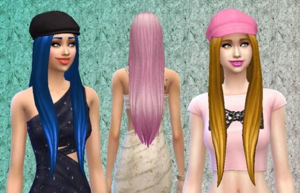Mystufforigin: Dream hairstyle for Sims 4