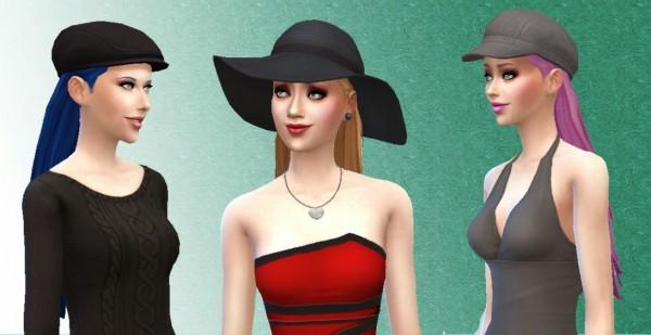 Mystufforigin: Pleasant Hairstyle for Sims 4
