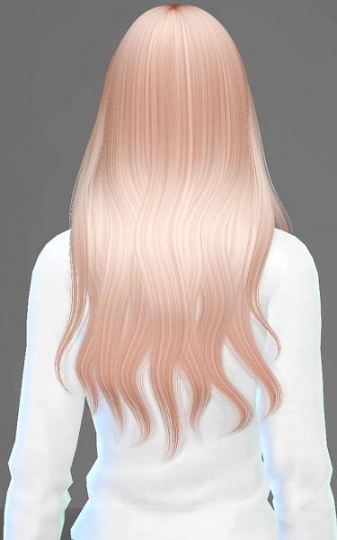 Artemis Sims: Alesso`s Quantum hairstyle retextured for Sims 4