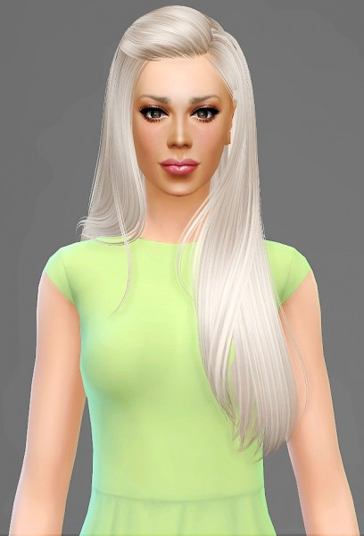 Artemis Sims: B Flysims 099 hairstyle retextured for Sims 4