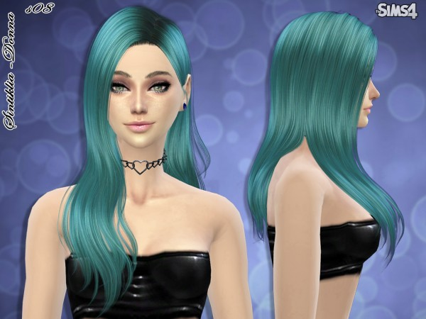 Sintiklia Sims: Hairstyle 08 Donna for Sims 4