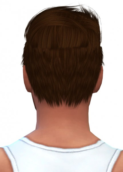 Swirl Goodies: Stealthic Like Lust Male Hairstyle retextured for Sims 4
