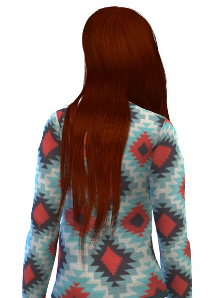 Swirl Goodies: Stealthic Valo Hairstyle retextured for Sims 4