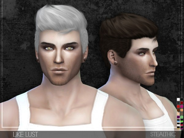 Stealthic: Like Lust hairstyle for Sims 4