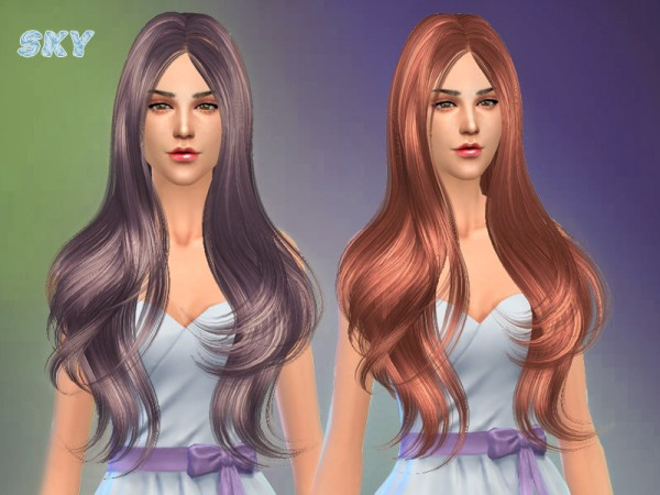 The Sims Resource: Hairstyle 254 by Skysims for Sims 4