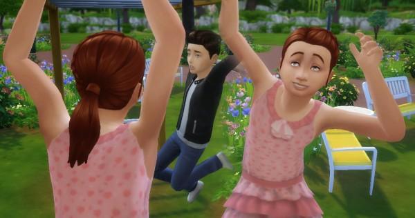 Mystufforigin: Pony Braid Side Conversion for Sims 4