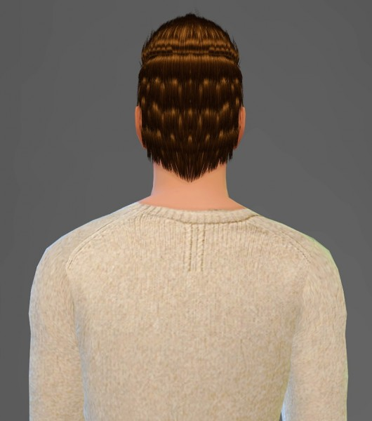Artemis Sims: CoolSims 104 hairstyle retextured for Sims 4