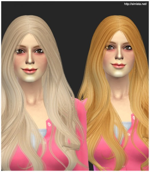 Simista: Alesso`s Quantum hairstyle retextured for Sims 4