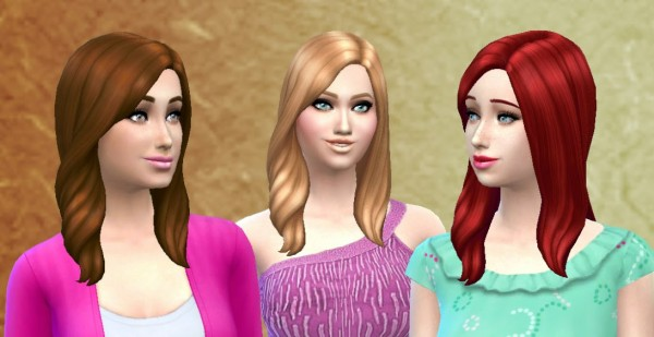 Mystufforigin: Choice Hairstyle for Sims 4