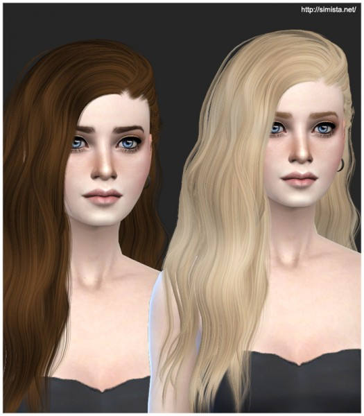Simista: Stealthic Solace Hairstyle Retextured for Sims 4