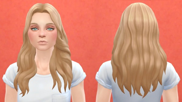 Pickypikachu: Outdoor retreat hairstyles for Sims 4
