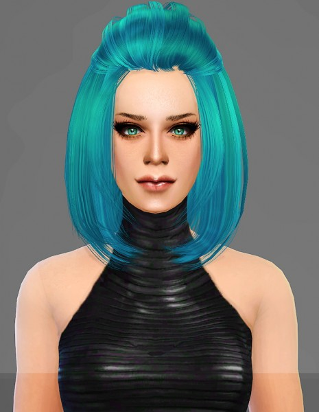 Artemis Sims: Peggy`s 008572 hairstyle retextured for Sims 4