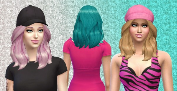 Mystufforigin: Storm hairstyle for Sims 4