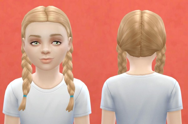 Pickypikachu: Child hairstyle for Sims 4