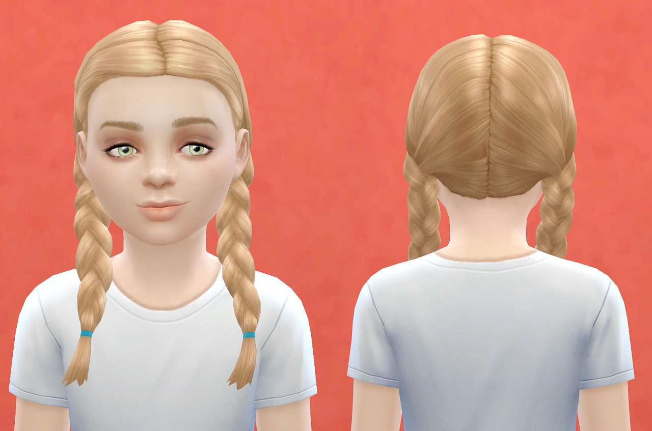 Sims 4 Hairs ~ Pickypikachu: Child hairstyle