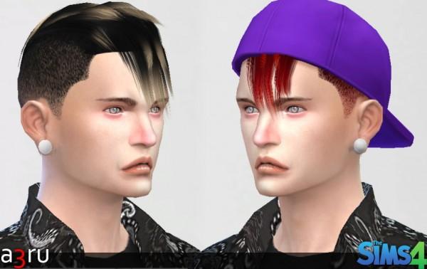 A3RU: Adam Hairstyle for Sims 4