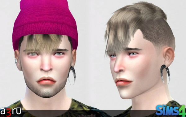 A3RU: Riley hairstyle  for Sims 4