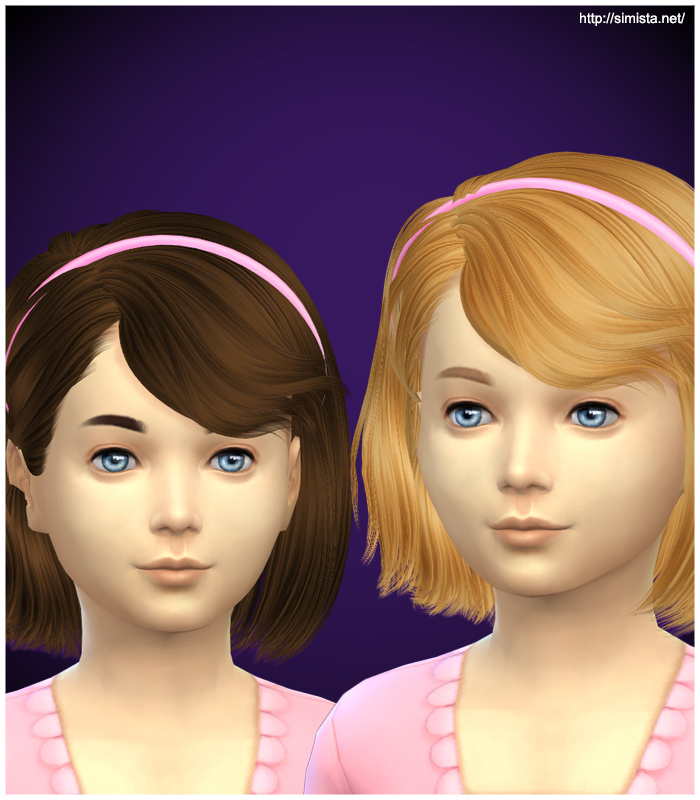 Sims 4 toddler hair mods