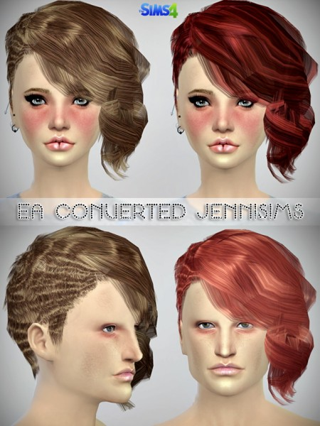 Jenni Sims: Ea Hairstyle converted (including mesh) for Sims 4