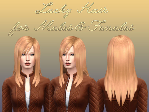 NotEgain: Lucky Hairstyle for Sims 4