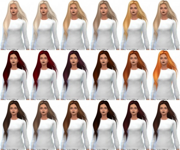 Miss Paraply: Skysims 251 hairstyle retextured for Sims 4