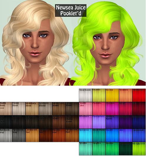 Annachibi`s Sims: Newsea`s J078 hairstyle retextured for Sims 4