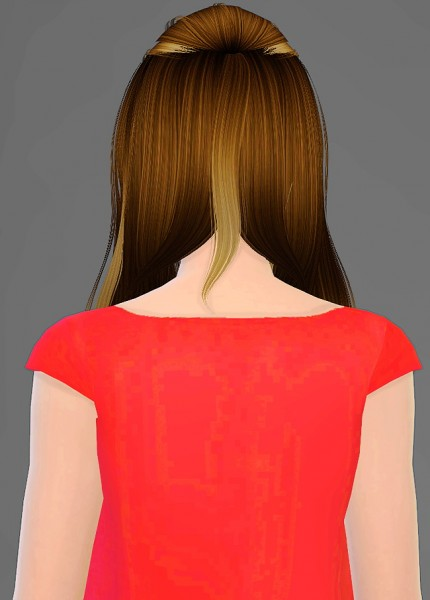 Artemis Sims: Alesso`s Aurora hairstyle retextured for Sims 4