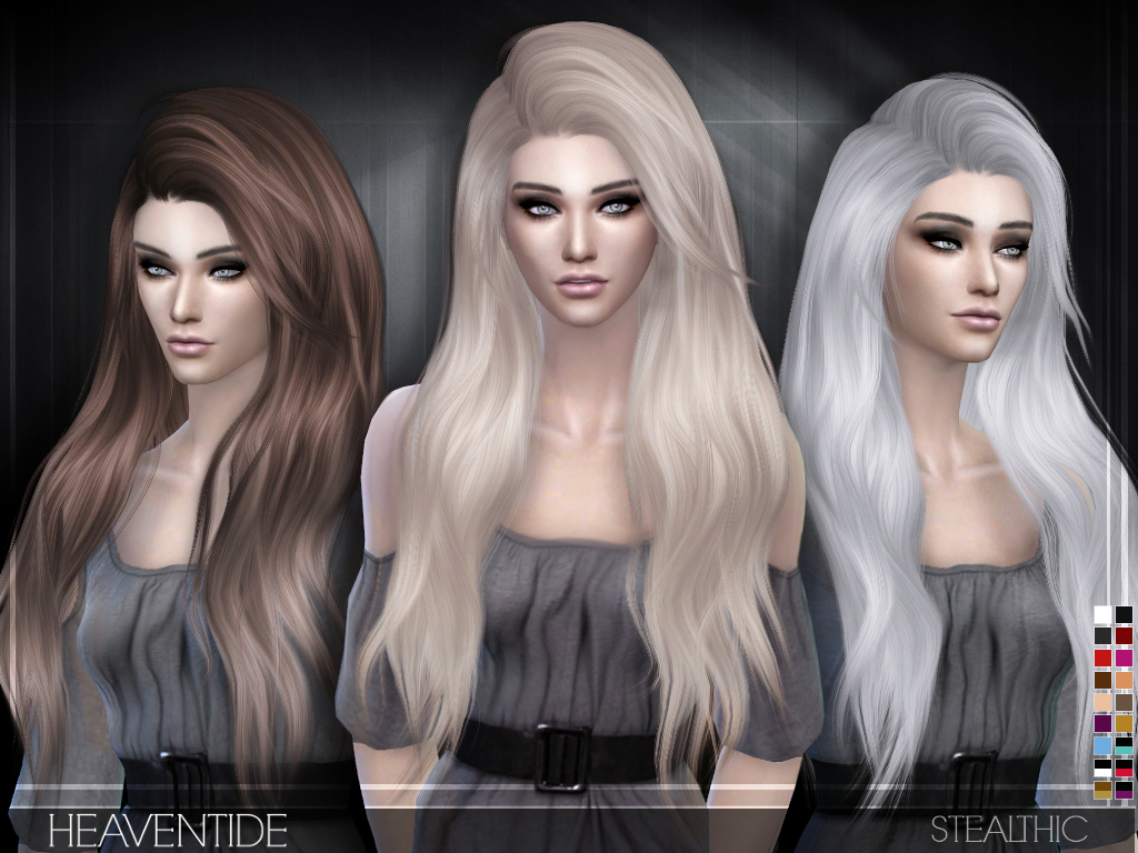 Sims 4 Hairstyles Mod The Sims Hide All Female Hair From Cas