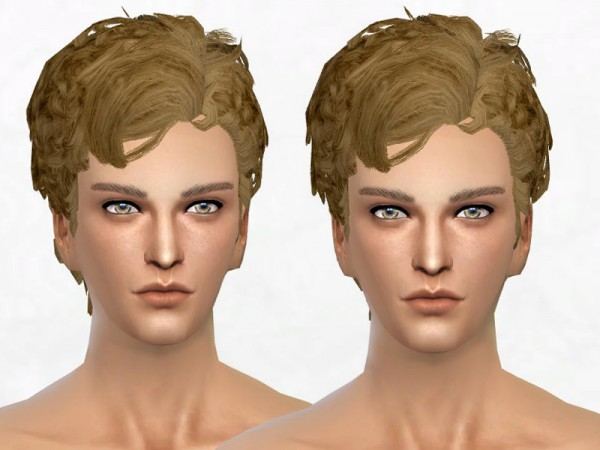 Sakura Phan: The Lindy Hop hairstyle for Sims 4