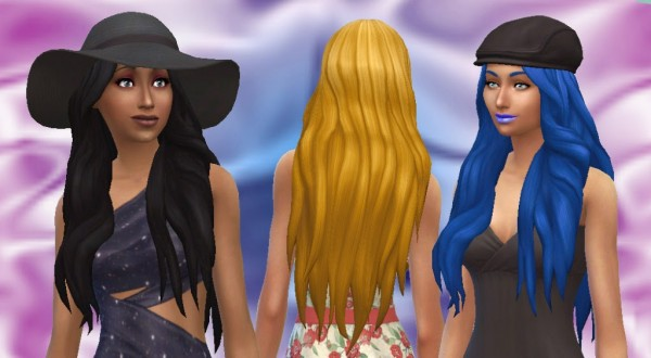 Mystufforigin: Mysterious hairstyle for Sims 4