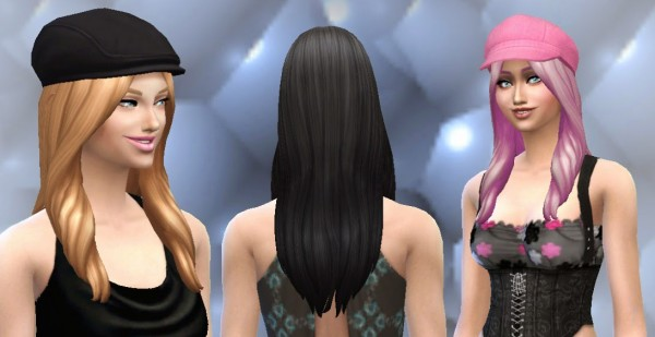 Mystufforigin: Oblivion Hairstyle for Sims 4