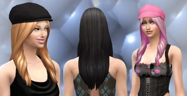 Mystufforigin: Oblivion Hairstyle for Sims 4