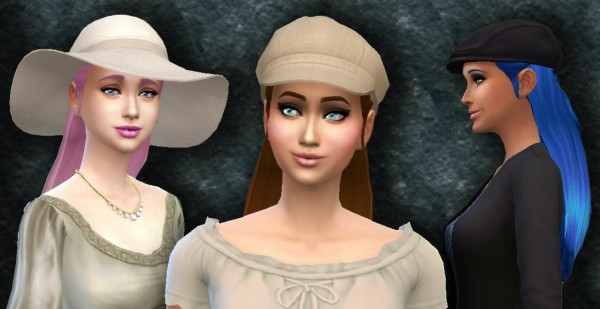Mystufforigin: Absolution hairstyle for Sims 4