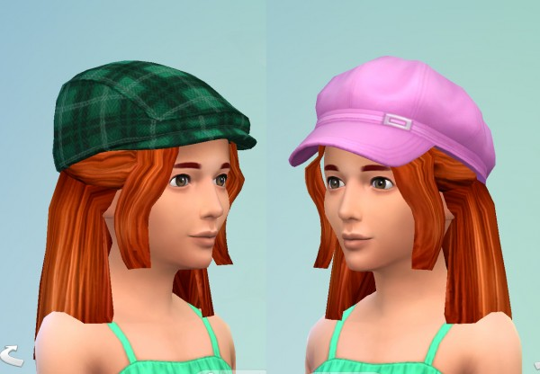 Mod The Sims: Angela or Lilith Pleasant hair conversion child to elder by necrodog for Sims 4