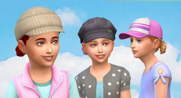 Mystufforigin: Buns Low for Girls for Sims 4
