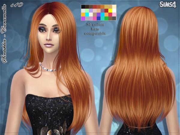 Sintiklia Sims: Caramella hairstyle 10 for Sims 4