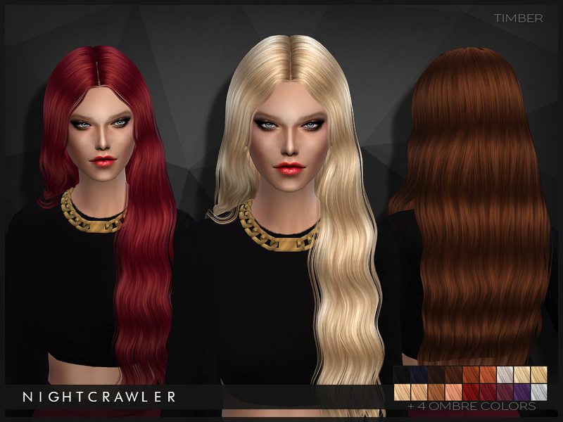 Sims 4 Hairs The Sims Resource Timber Hairstyle By