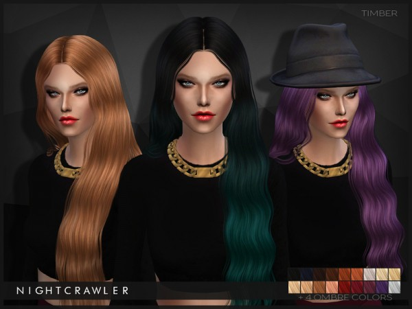 The Sims Resource: Timber hairstyle by Nightcrawler for Sims 4