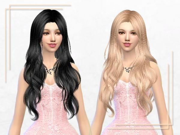Sakura Phan: ELA hairstyle 31 retextured for Sims 4