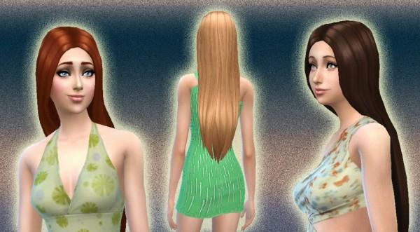 Mystufforigin: Dream hairstyle version 2 for Sims 4